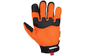 Mechanix Wear Gloves M-Pact Safety (Orange / S Size)
