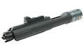 G&P MWS Forged Aluminum Complete 4-6 Bolt Carrier Group Set for G&P MWS GBB Buffer Tube - Black