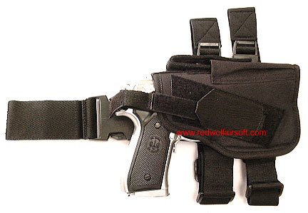 Milspex Frame Thigh Mount Holster (Black)