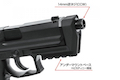 Nine Ball S.A.S. Front Kit for Tokyo Marui USP Compact GBB - Black