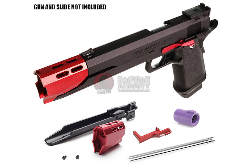 Nine ball Crimson Custom Four Piece Set for Tokyo Marui Hi-Capa 5.1 GBB Pistol