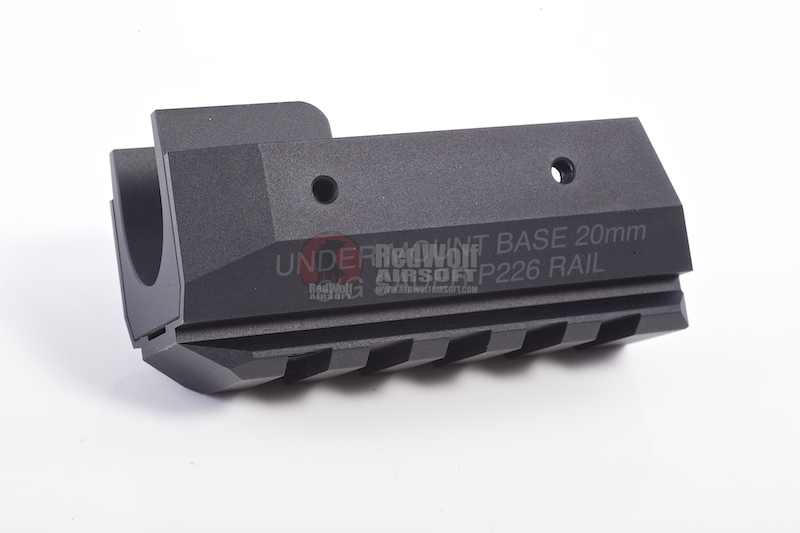 Nine Ball 20mm Under Mount Base for Marui P226