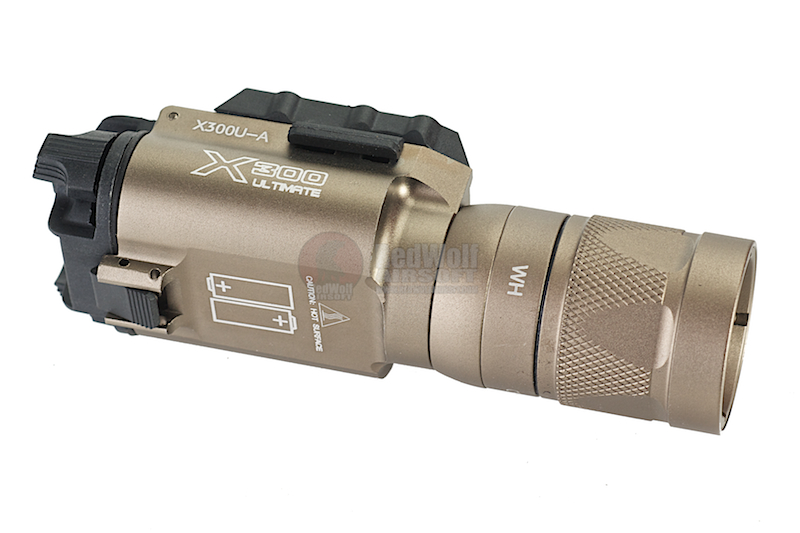 Night Evolution X300V (Strobe Version) Flashlight - FDE