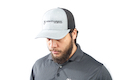 Nighthawk Custom Cap - Heather Gray w/ Nighthawk Custom Logo & Custom Lettering (Mesh Back) (C243)