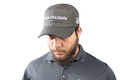 Nighthawk Custom Cap - Black Wax Cotton w/ Silver Nighthawk & Tactical Flag Embroidery Logo (C250)