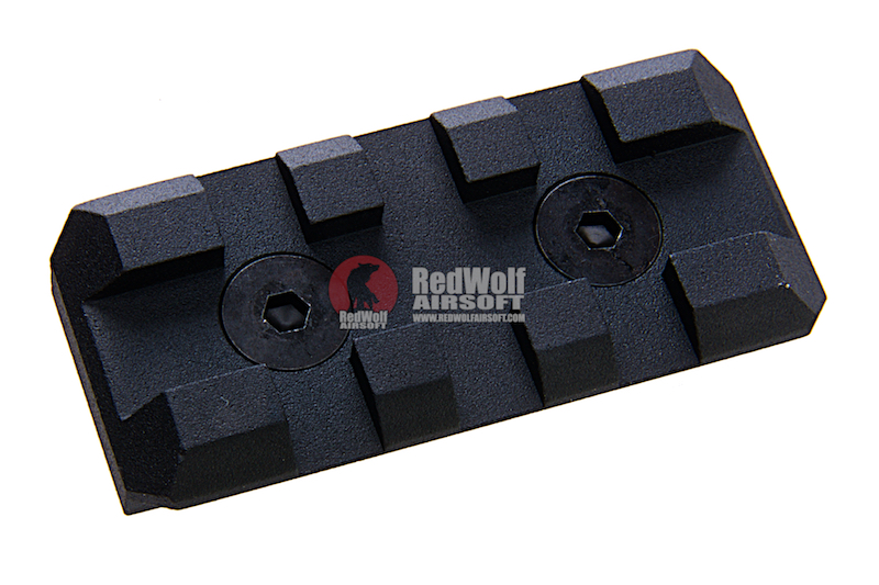 Nitro.Vo Dual Extra Rail Short 45mm (Picatinny rail Rail for M-Lok & Keymod Rail)
