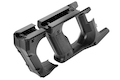 Nitro.Vo Strike Knuckle Guard & Advanced Grip for Kiss Vector Airsoft AEG SMG Rifle - Black