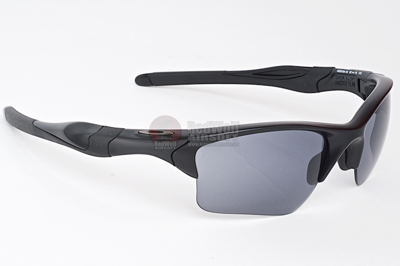 fa80d79ab4 Oakley SI Half Jacket 2.0 XL (Matte Black   Grey   Persimmon   Clear ...