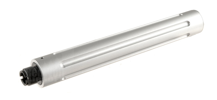 Action 6.5inch EOD Outer Barrel for 14mm CCW (Silver)