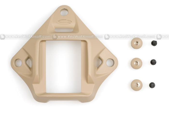Ops-Core VAS Shrould NVG Mount (Urban Tan)