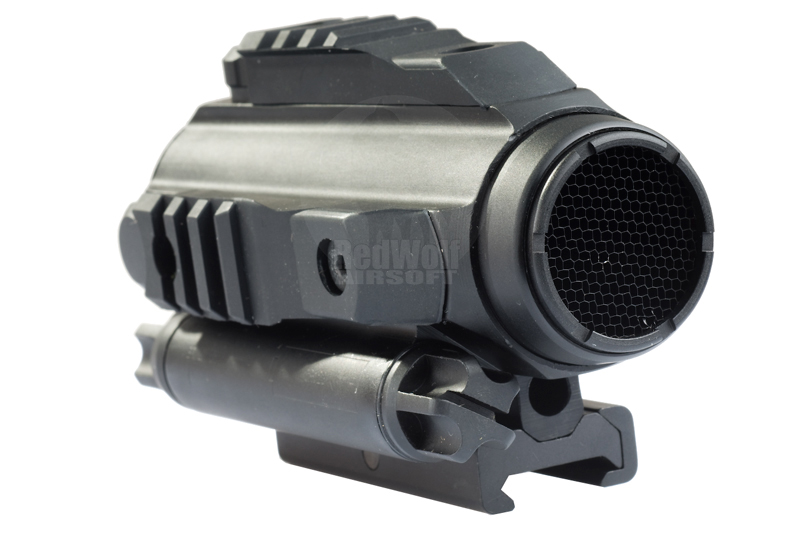 Optronics Precision Metal Tri Rail Red Dot Sight