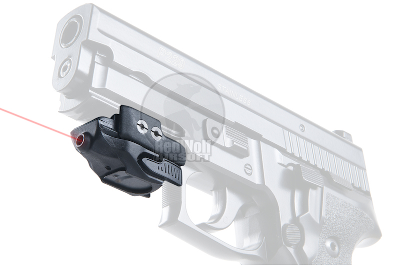 Optronics Precision OP136 Mini Pistol Rail Red Laser