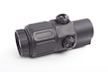 Optronics 3x25 Magnifier Scope (BK)