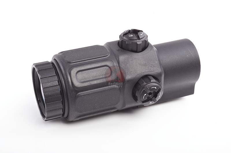 Optronics 3x25 Magnifier Scope (BK) <font color='red'>(Blowout Sale)</font>