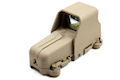 Optronics 53 Fully Adjustable No-Ghost Red/Green Dot Scope Sight (Sand)