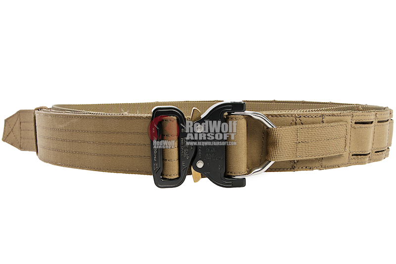 OPS D-Ring Cobra Warrior Belt - Coyote Brown (size XL)