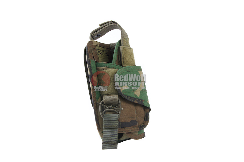 OPS Universal Pistol Holster - M81 Woodland Camo