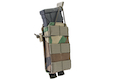 OPS M4/AK Shingle Single Mag Pouch - M81 Woodland Camo