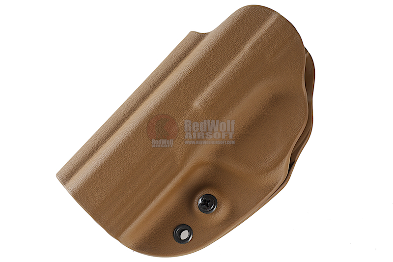 G-CODE OSH RTI Kydex Holster for S&W M&P 4 25 inch (Left Hand / TAN)