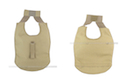 PANTAC Outer Tactical Vest Under Arm Pads (Khaki, Cordura) <font color=yellow>(Clearance)</font>