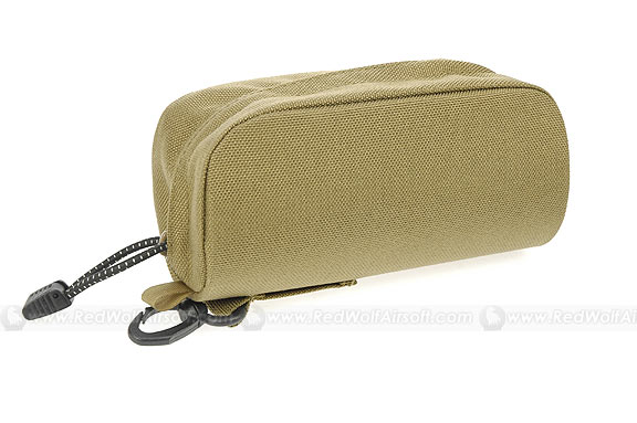 PANTAC Sunglasses Case  (Large / Khaki / CORDURA)