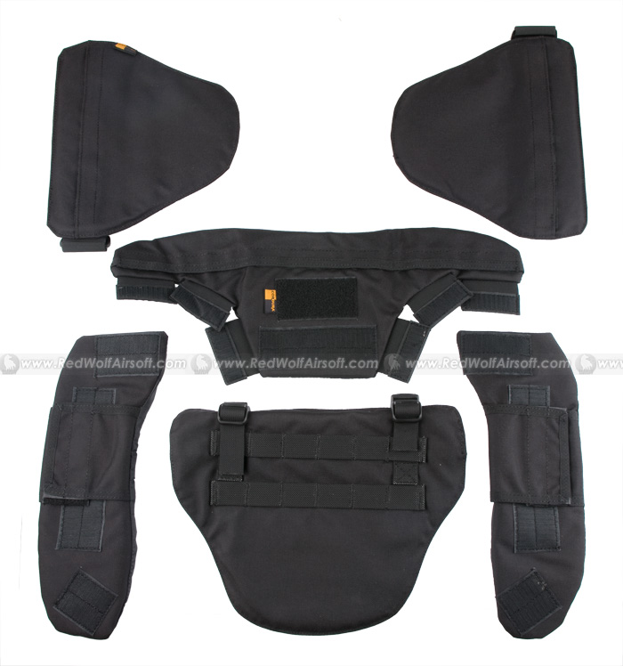 PANTAC Force Recon Protective Accessory Kit (Black / Cordura)