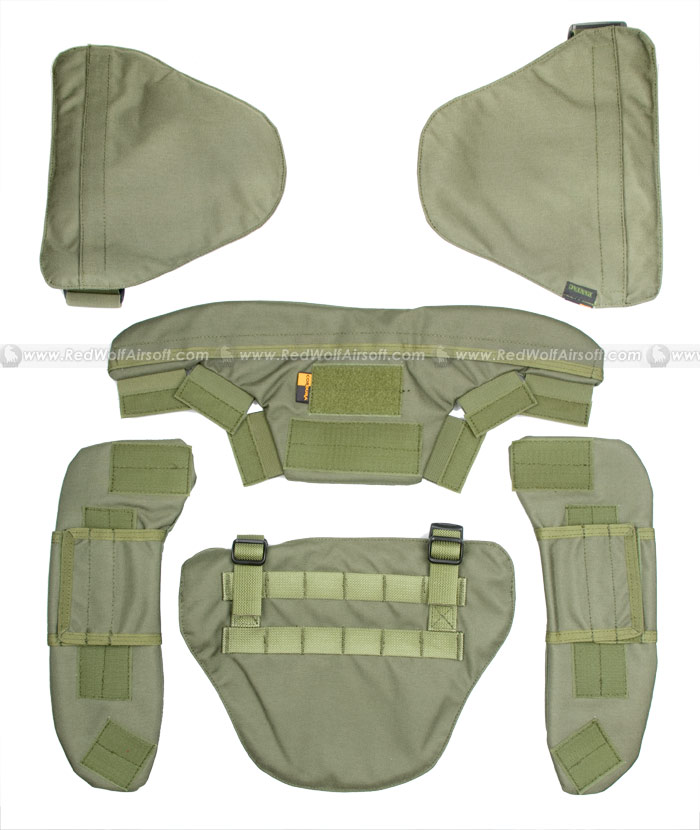 PANTAC Force Recon Protective Accessory Kit (OD / Cordura)