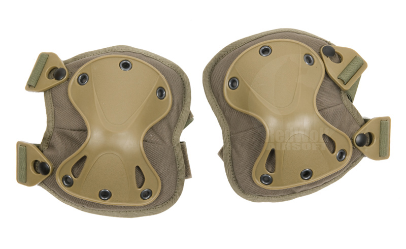 PANTAC X-Force Knee Pad (Ranger Green)