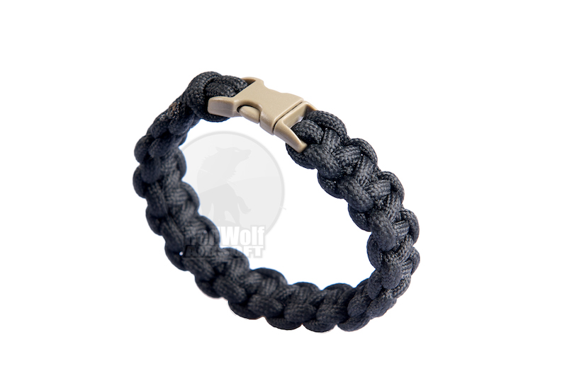 PANTAC 8 Inches Bracelet (Black)