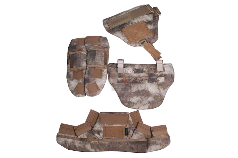 PANTAC Full Set Protective Accesory for Recon Vest (A-TACS / Cordura)