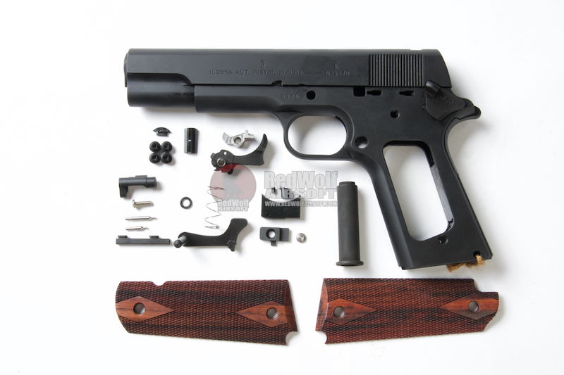 PAPAGO ARMS M1914 Full Steel Kit for Tokyo Marui 1911 GBB