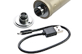 ACETECH Lighter BT Tracer Unit (M14CCW) with M11 CW Adaptor & Micro USB charging cable (Tan)