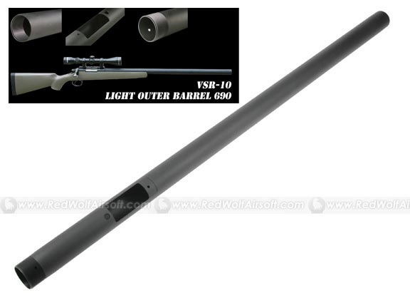 PDI Ezy Light Outer Barrel 690 for Marui VSR10