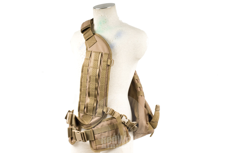 PANTAC Molle Delta Pack (Coyote Brown)