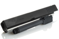 PGC Metal Slide with Screw Barrel for Marui Model 17 (Black)