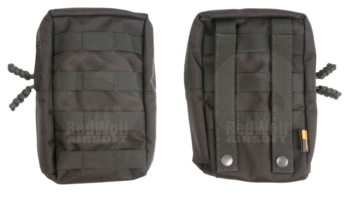 PANTAC Molle Vertical Accessories Pouch (Black / Cordura)
