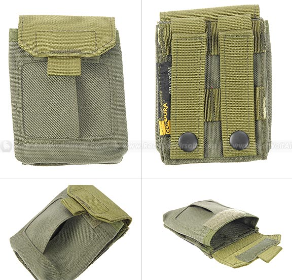 PANTAC Molle Medical Hand Pouch (OD / CORDURA) <font color='red'>(Blowout Sale)</font>