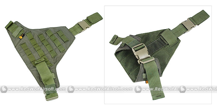 PANTAC Triangular Leg Panel (OD, Cordura)