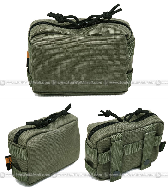 PANTAC Small Molle Accessories Pouch (RG / Cordura)