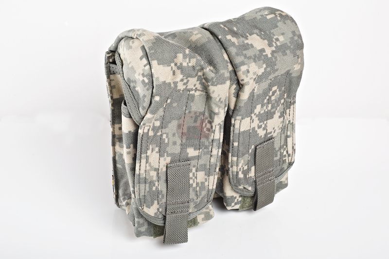 PANTAC Molle AK Double Mag Pouch (ACU / Cordura) <font color=red> (Clearance)</font>