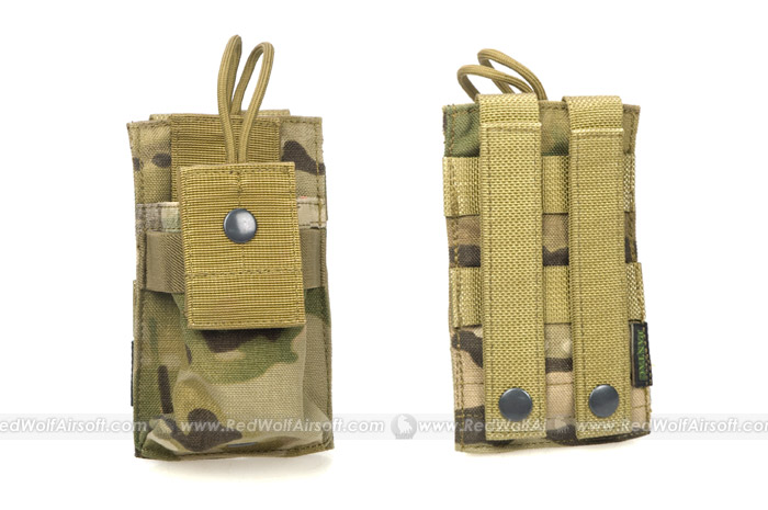 PANTAC Molle Short Radio Pouch (Crye Precision Multicam / CORDURA)