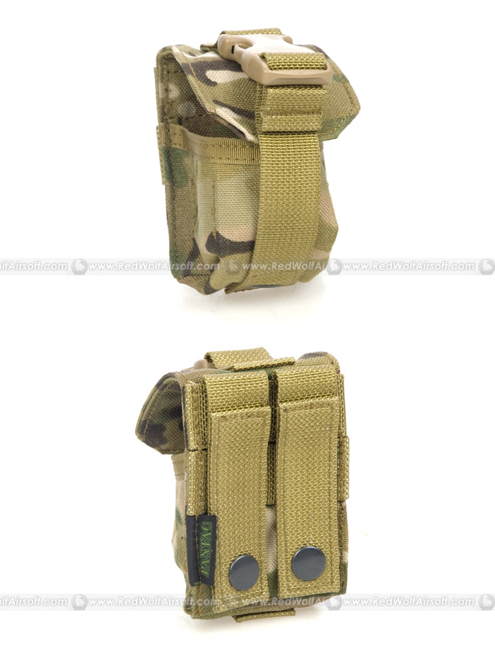 PANTAC Single Fragmention Grenade Pouch (Crye Precision Multicam / CORDURA)