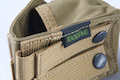 PANTAC Single Fragmention Grenade Pouch (Khaki / CORDURA)