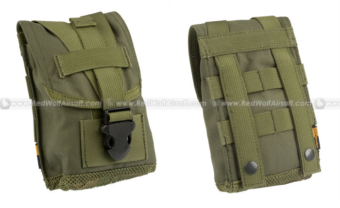 PANTAC Molle 1 Quarter Canteen Pouch (OD/ Cordura) <font color=yellow>(Clearance)</font>