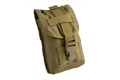PANTAC Molle 1 Quart Canteen Pouch (Khaki / Cordura) <font color=yellow> (Year End Sale)</font> <font color=red>(Free Shipping Deal)</font>