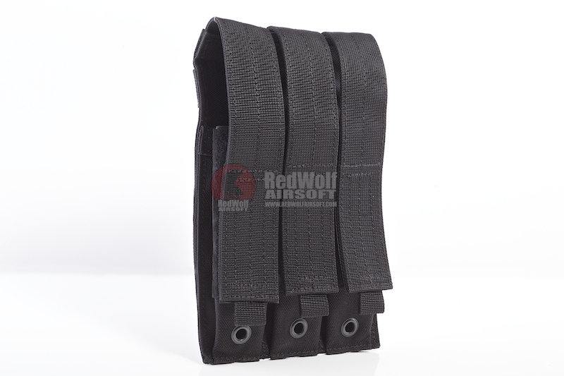 Pantac Molle MP5 Triple Mag Pouch (Cordura/ Black)