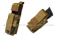 PANTAC Molle 9mm Pistol Mag Pouch with Hard Insert (Crye Precision Multicam / Cordura)