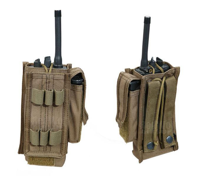 PANTAC Spec Ops MALICE Universal Radio Pouch (Coyote Brown / Cordura)