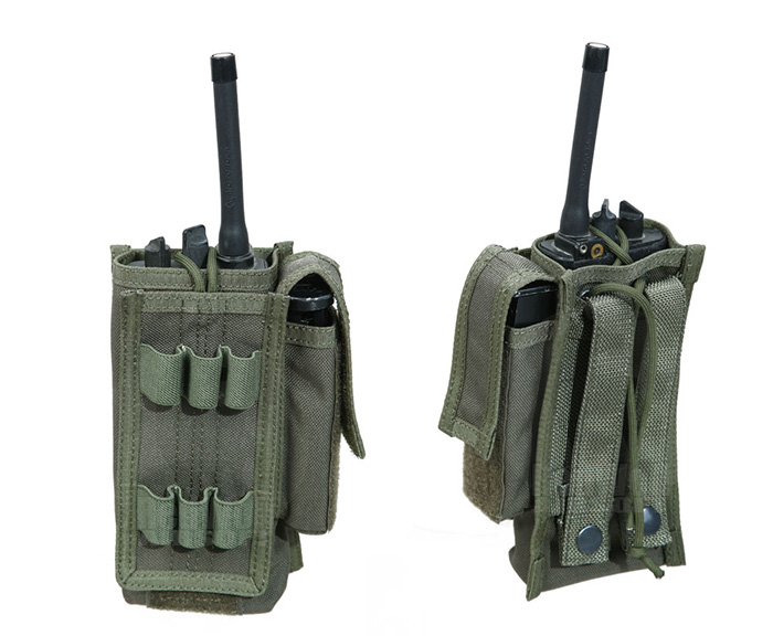PANTAC Spec Ops MALICE Universal Radio Pouch (Ranger Green / Cordura)