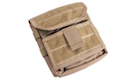 Pantac Molle Multi-Purpose Administrative Pouch (Cordura / Coyote Brown)